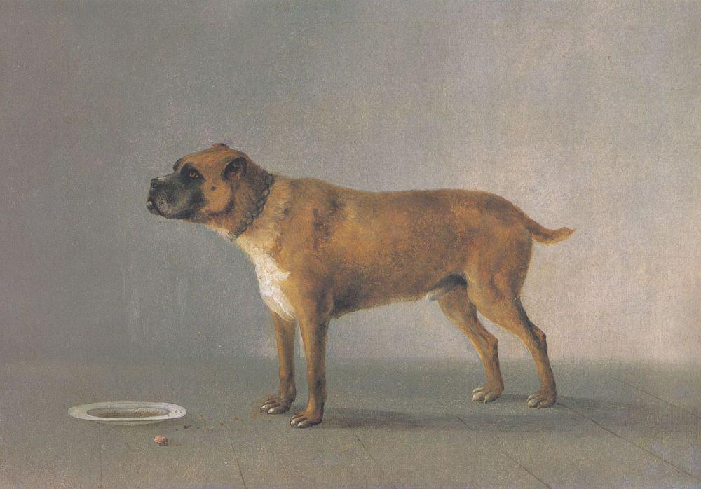 Deutscher Boxer - Altes Gemälde