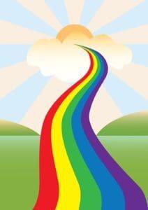 Regenbogenbrücke - Abschied nehmen